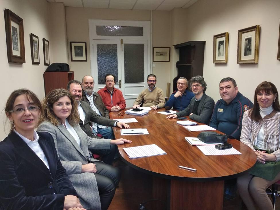 Participantes en la cátedra impulsada por la Mancomunidad de Ferrol y de la Universidad de A Coruña