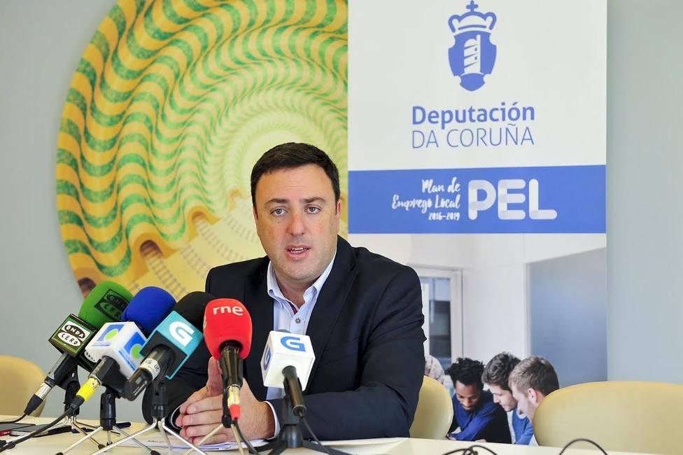 Foto de archivo del presidente de la Diputación de A Coruña, Valentín González Formoso