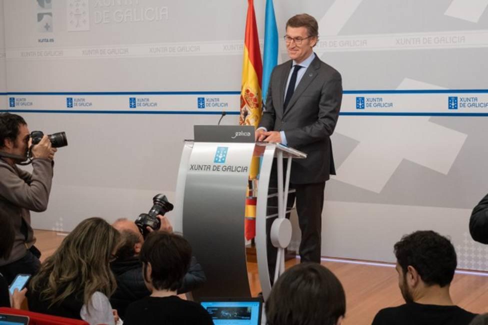 Feijóo convoca las elecciones gallegas para el 5 de abril