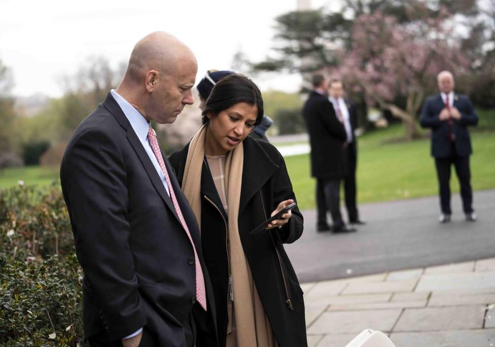La portavoz de Pence, segunda contagiada por coronavirus esta semana en la Casa Blanca