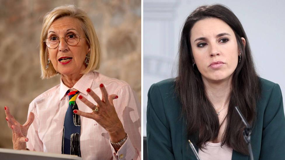 """Rosa Díez, tras el vídeo de Irene Montero: """"Políticamente es una canallada. Penalmente, veremos"""""""
