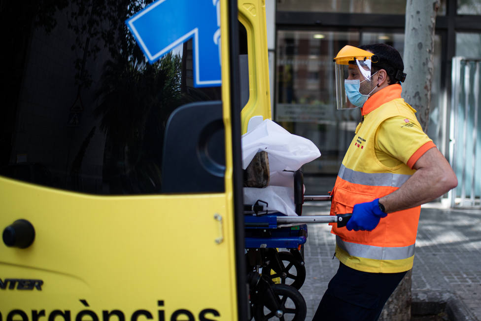 Trabajo del Sistema de Emergencias Médicas de la Generalitat de Cataluña