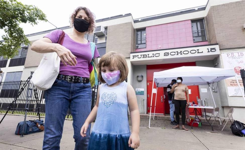 Escuela pública en Brooklyn, Nueva York