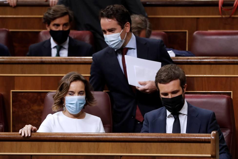 El Partido Popular y Vox preguntarán por el caso Dina tras saber que Iglesias irá al Pleno
