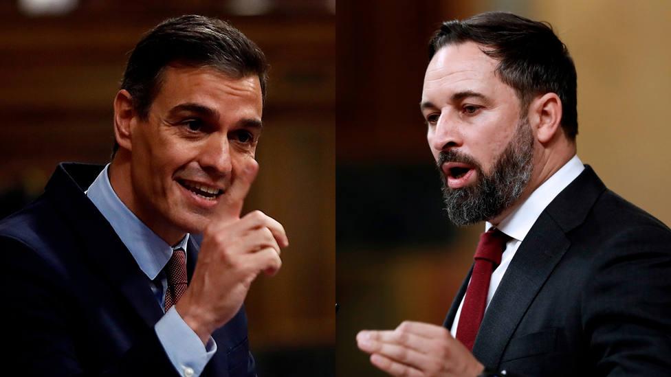 VOTA   ¿Quién ha ganado el cara a cara de la moción de censura: Sánchez o Abascal?