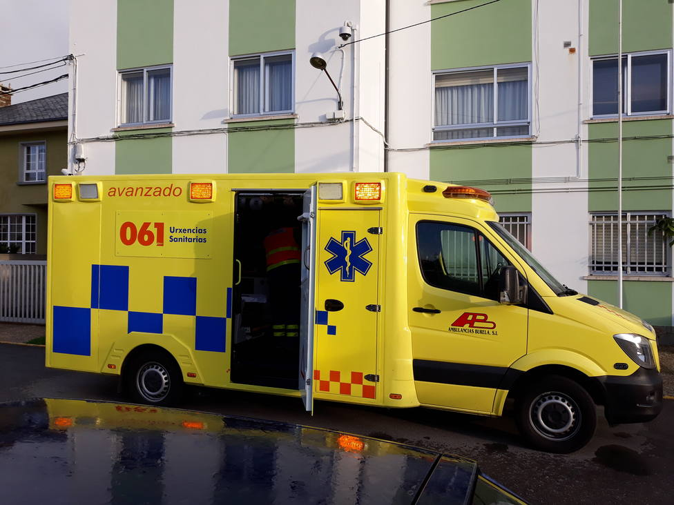 Ambulancia medicalizada con base en Foz
