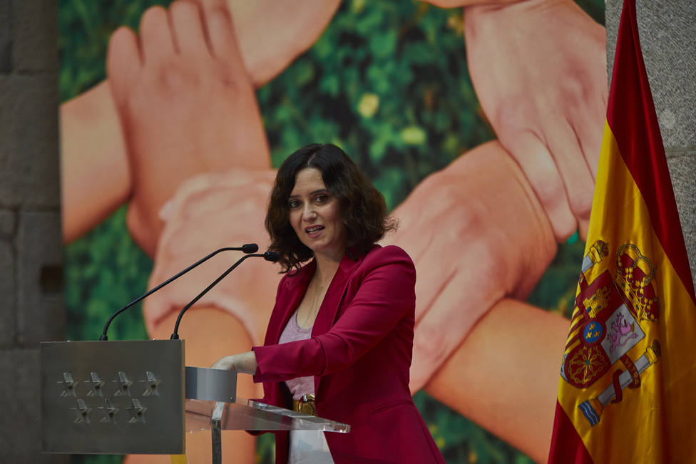 Ayuso critica la hispanofobia de Pedro Sánchez y advierte que denunciarán todo abuso fiscal