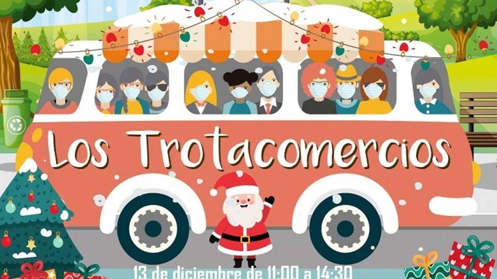 Detalle del cartel de Trotacomercios