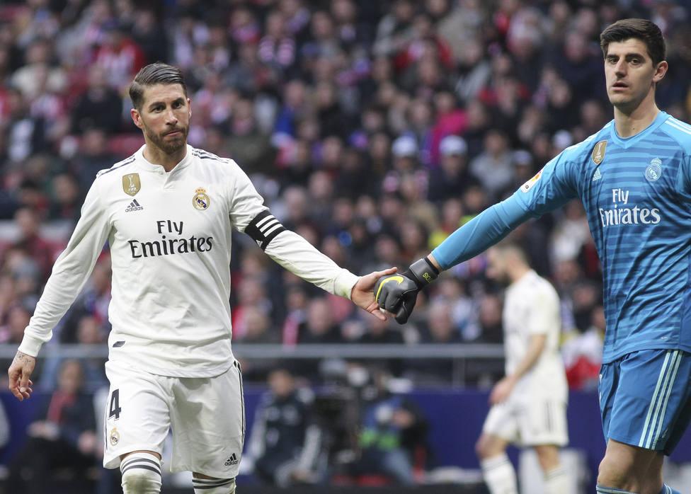 Soccer: La Liga - Atletico de Madrid v Real Madrid