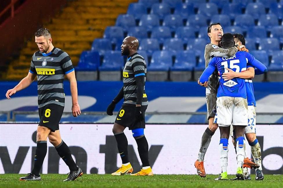 Imagen del Sampdoria - Inter