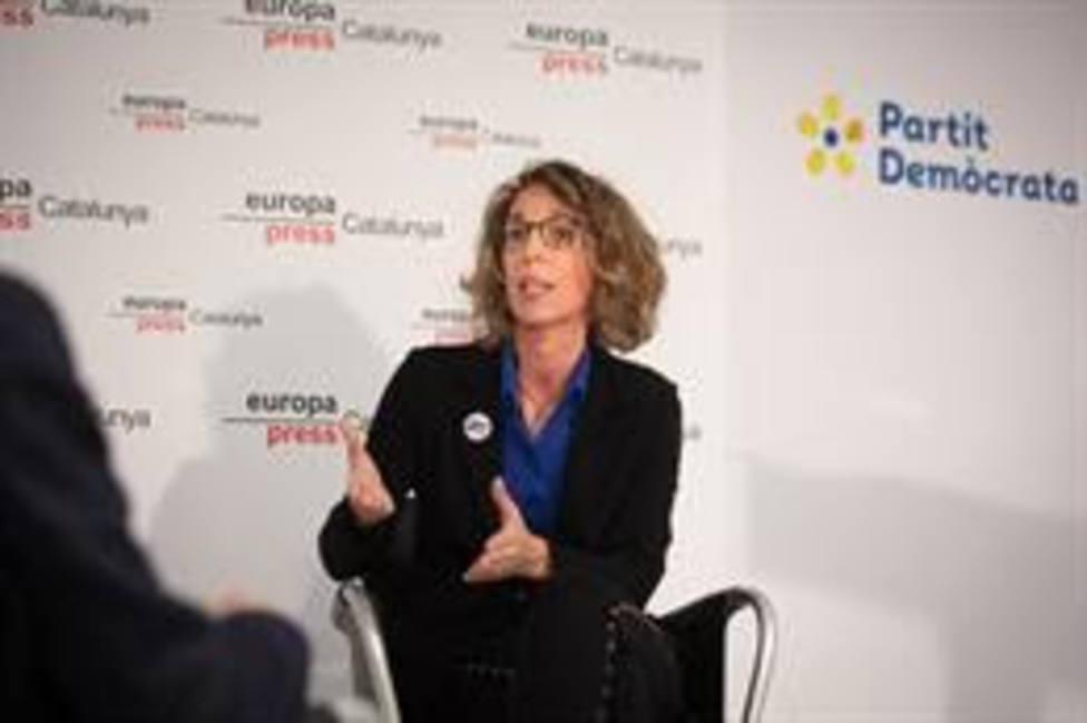 La exconsellera y candidata del PDeCAT a las elecciones catalanas, Àngels Chacón