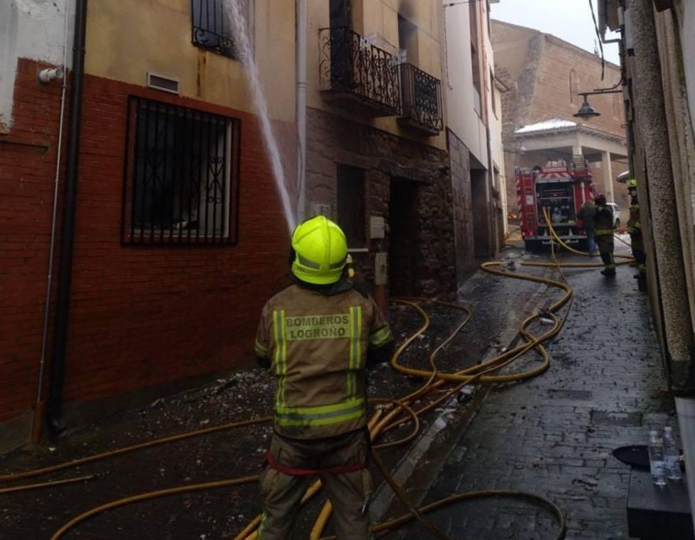 Incendios bajo cero en La Rioja