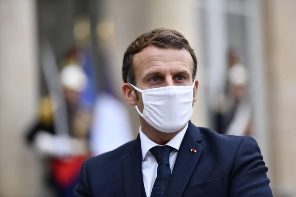 Macron contempla la declaración el próximo miércoles de un nuevo cierre en Francia