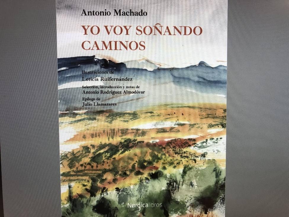 Portada del libro que se ha presentando en el 82 aniversario de la muerte de Machado