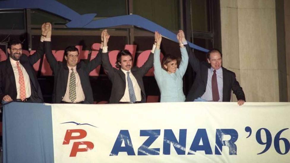 25 años de la victoria de Aznar en unas elecciones generales: las primeras del centro-derecha