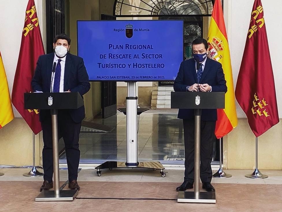 Agua.- Presidente Croem pide a López Miras que convoque Pacto Regional del Agua para cerrar filas en torno al trasvase