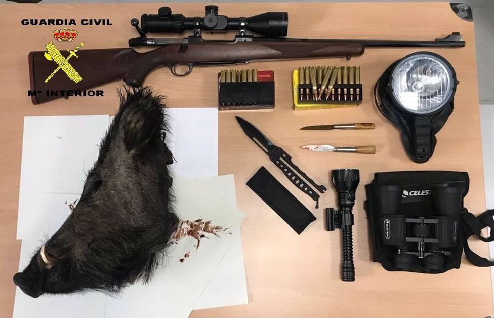 La Guardia Civil investiga a tres supuestos furtivos de caza en Cangas del Narcea