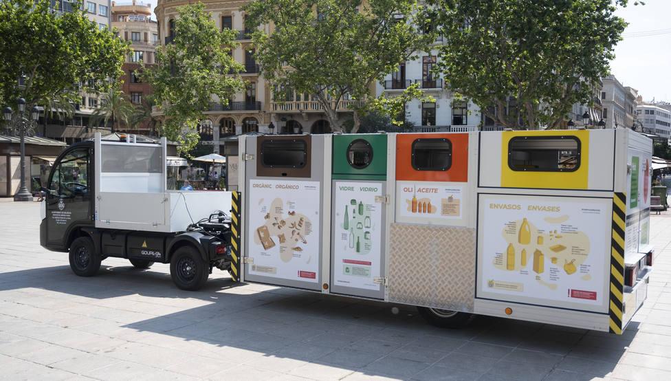 Plataforma recogida residuos para Ciutat Vella