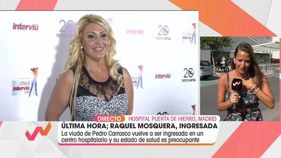 Una reportera de Telecinco sufre un golpe de calor en directo y reacciona de esta forma: Ay, perdón