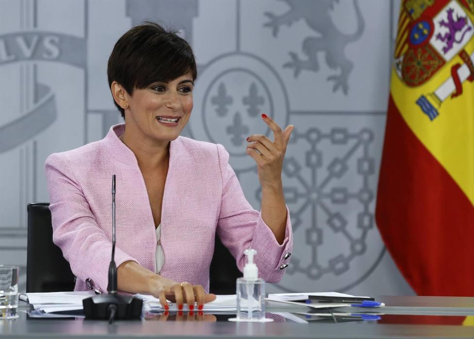 La nueva ministra de Política Territorial y portavoz del Gobierno, Isabel Rodríguez