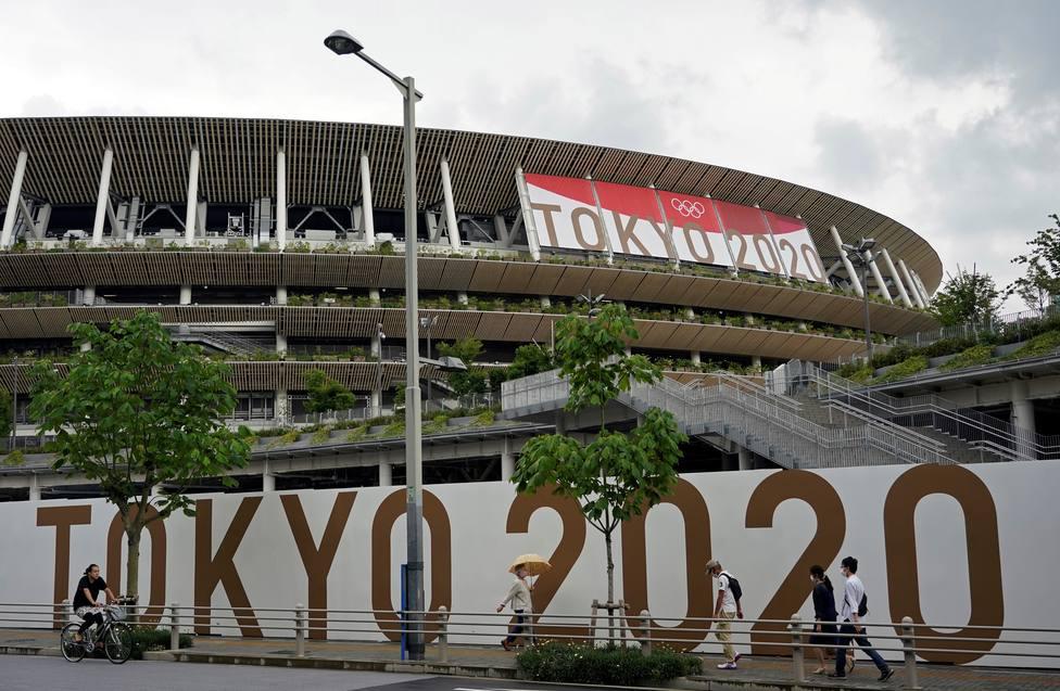 Estadio Olímpico de Tokio 2020.