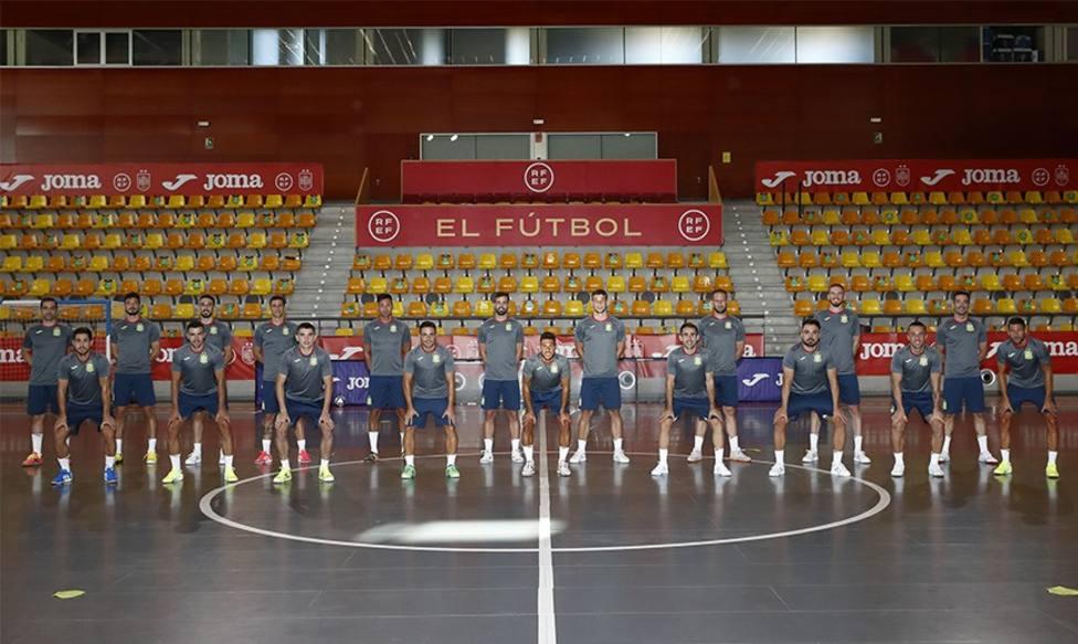 La plantilla de la selección española que disputará el mundial de Lituania