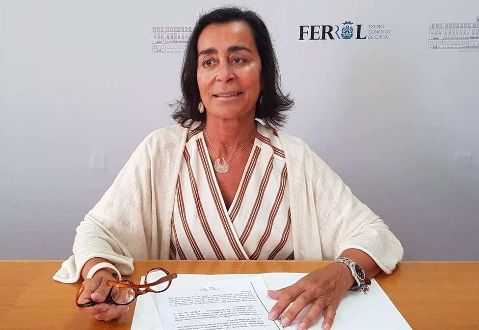 Elvira Miramontes es edil del Partido Popular - FOTO: PP de Ferrol