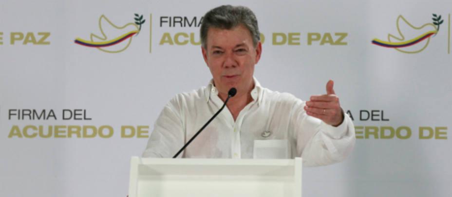 José Manuel Santos, presidente de Colombia. REUTERS