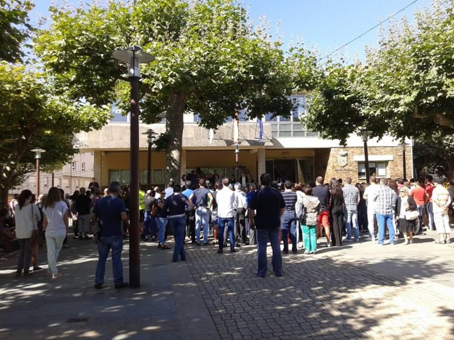 Imagen de la concentración de Carral