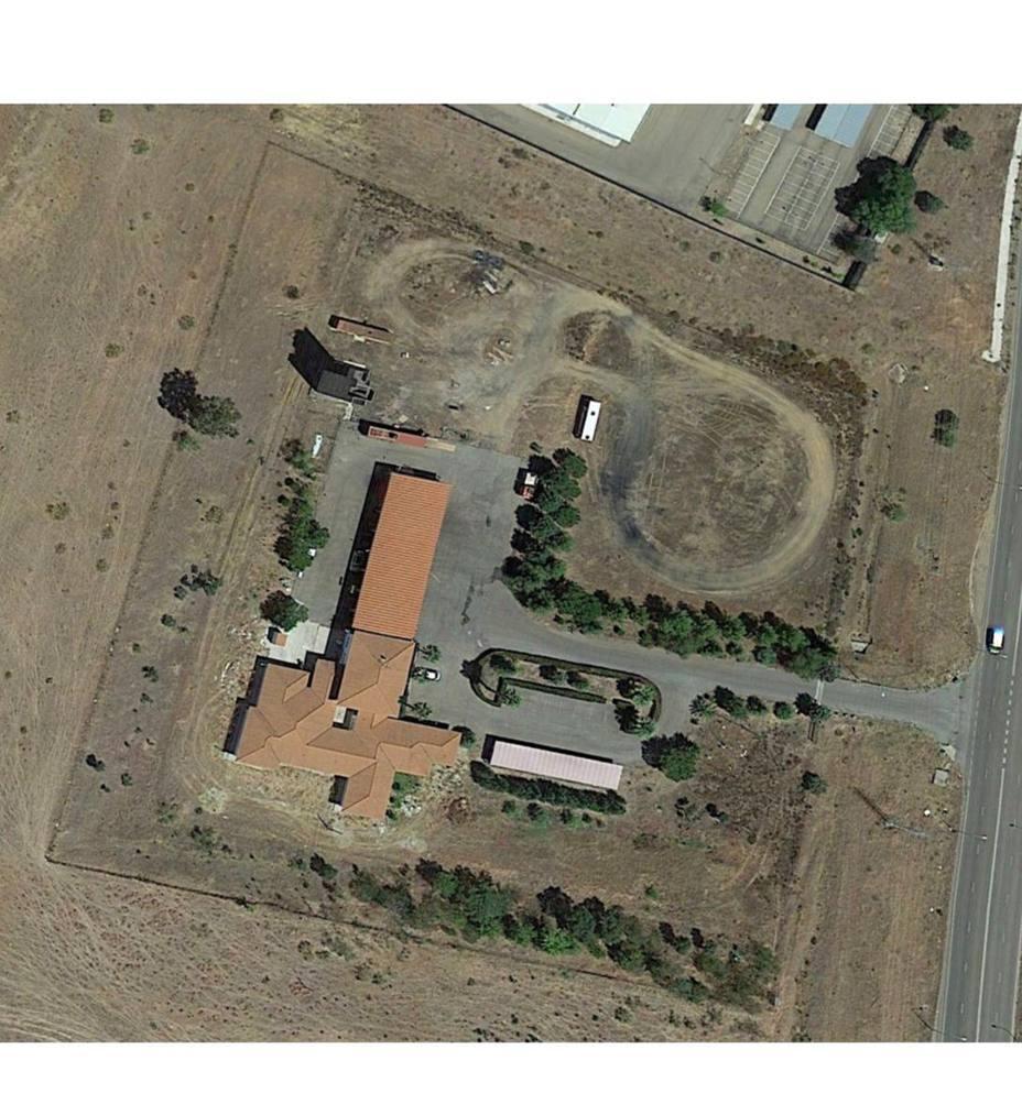 vista aerea parque de bomberos