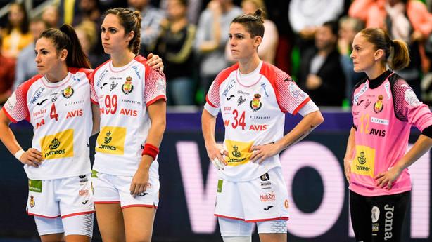 Imagen de la selección femenina de balonmano. EFE