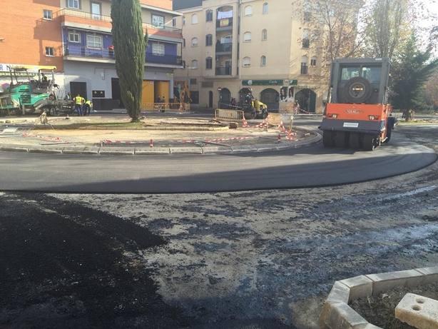 asfaltado badajoz