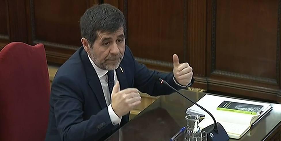 28A- Junts pel Sí pide a la JEC que autorice a Jordi Sànchez a participar en ruedas de prensa electorales desde prisión