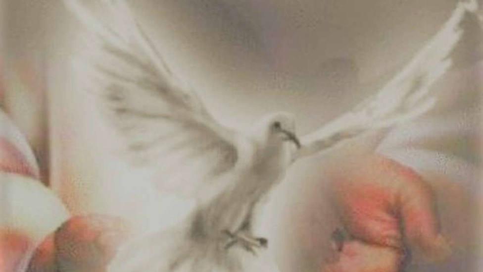 Espíritu Santo en manos de Jesús/ Devocionario católico