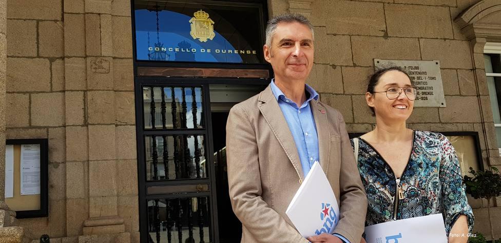 Luis Seara y Ruth Marina Reza