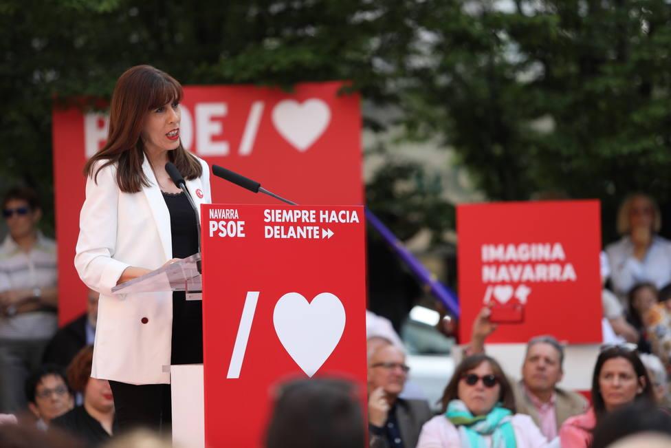 La candidata del PSN a la alcaldía de Pamplona se votará a sí misma y no apoyará ni a Navarra Suma ni a Bildu