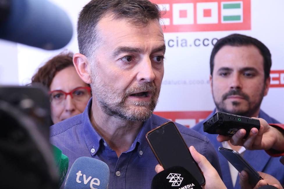 Garzón elogia la decisión coherente de Maíllo y le da las gracias: Te echaremos mucho de menos
