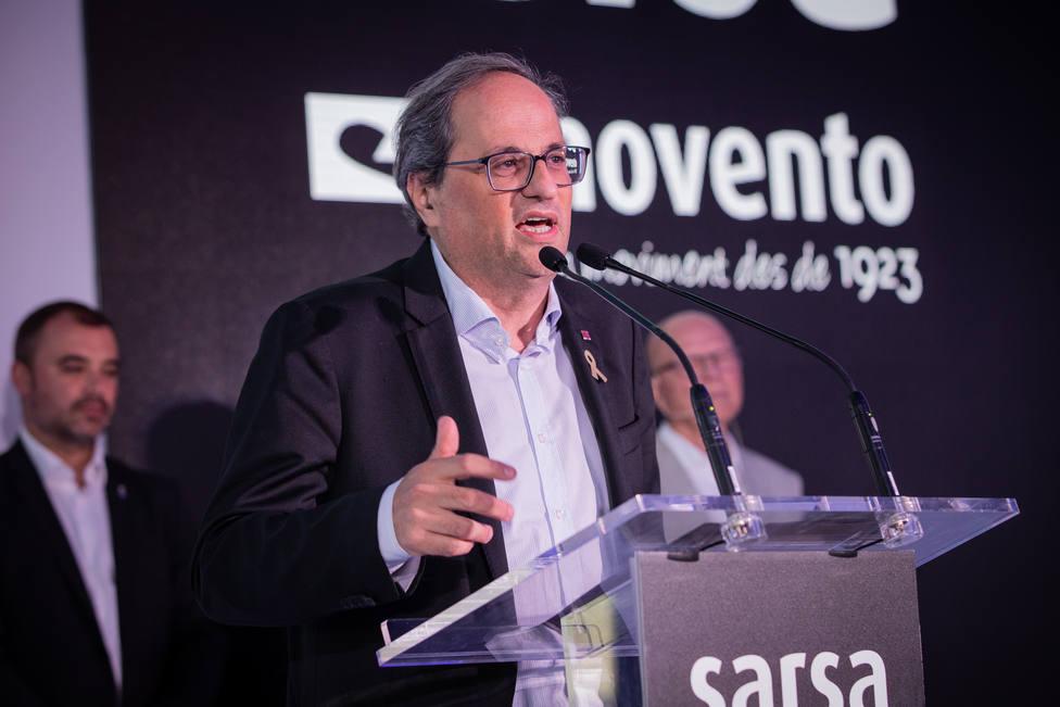 """Torra reprocha al """"reino de España"""" la situación del catalán en el ámbito judicial"""