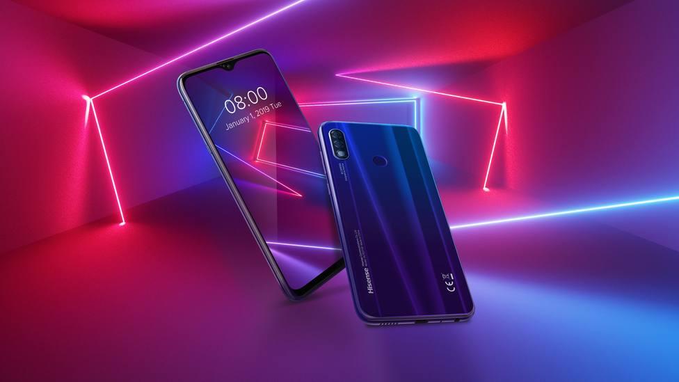 Hisense lanza su serie de smartphones Infinity H30 apostando por la IA y la seguridad