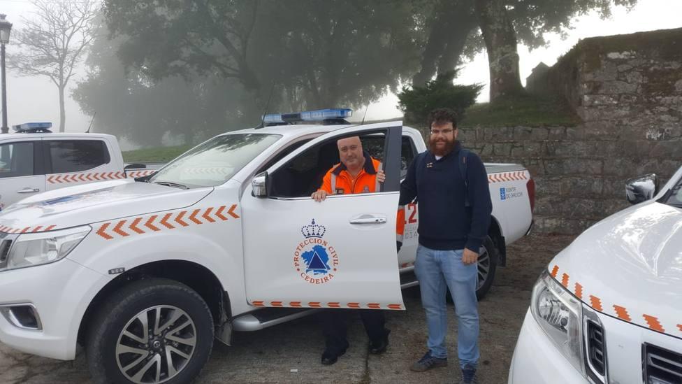 Recepción del nuevo vehículo de Protección Civil de Cedeira - FOTO: Concello de Cedeira