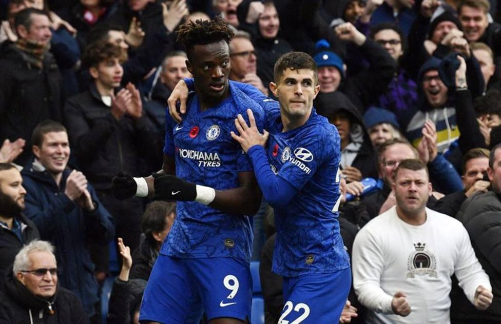 El Chelsea se coloca segundo tras ganar al Crystal Palace