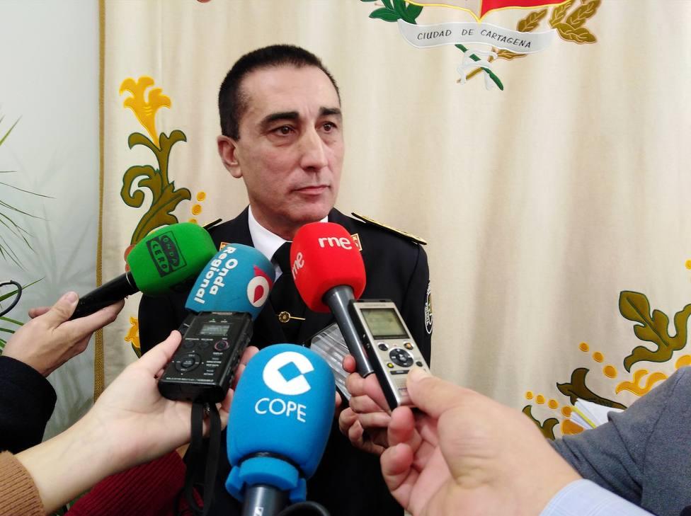 Toma posesión del cargo el nuevo comisario jefe de la Policía Local de Cartagena