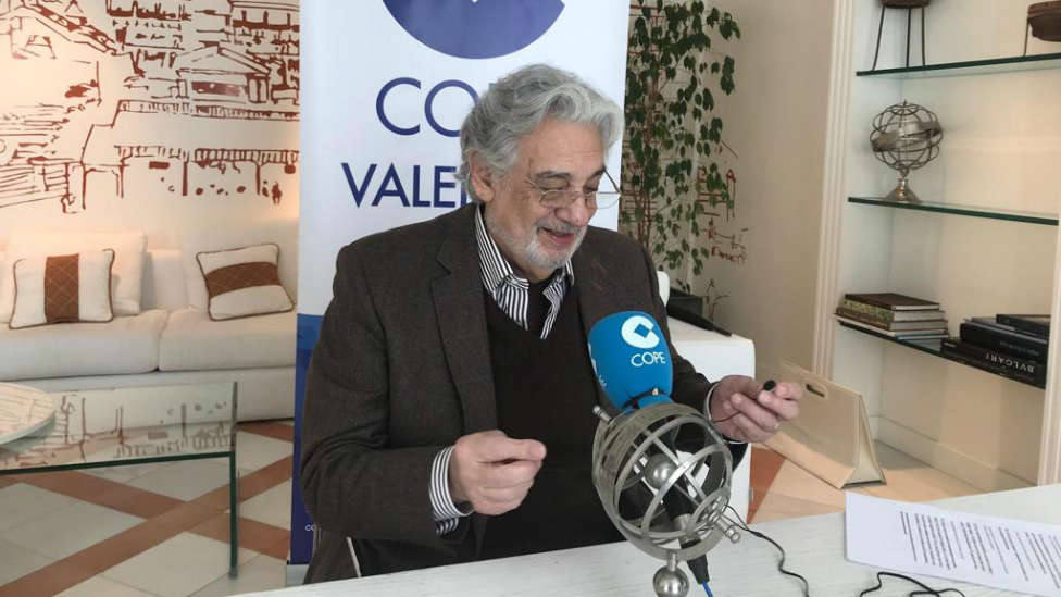Plácido Domingo en COPE