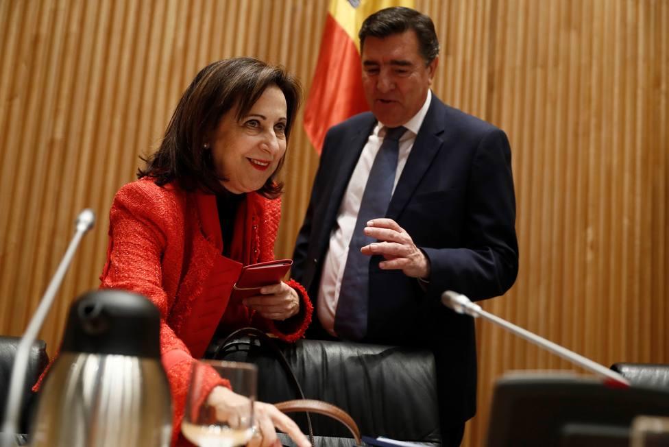 Vox solicita que Margarita Robles dé explicaciones en el Congreso sobre el accidente de Murcia