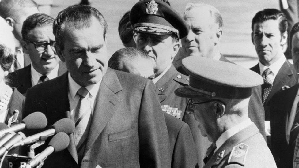 Nixon y Franco