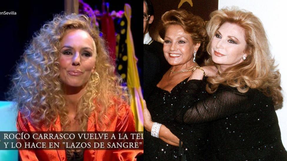 Rocío Carrasco desvela que le dijo Carmen Sevilla el día del entierro de su madre: Tenía toda la razón