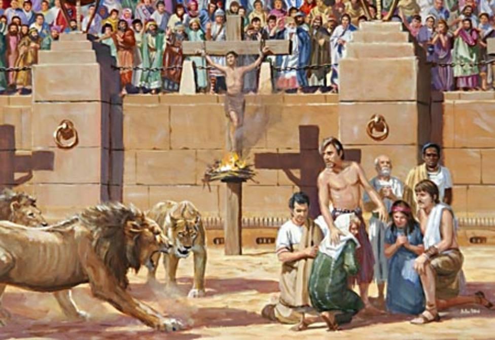 El santoral del 30 de juno: Santos Protomártires Romanos valientes en dar la vida por Cristo