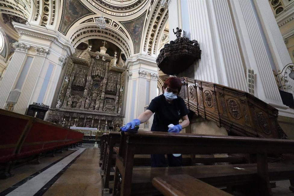 basilica del pilar, covid