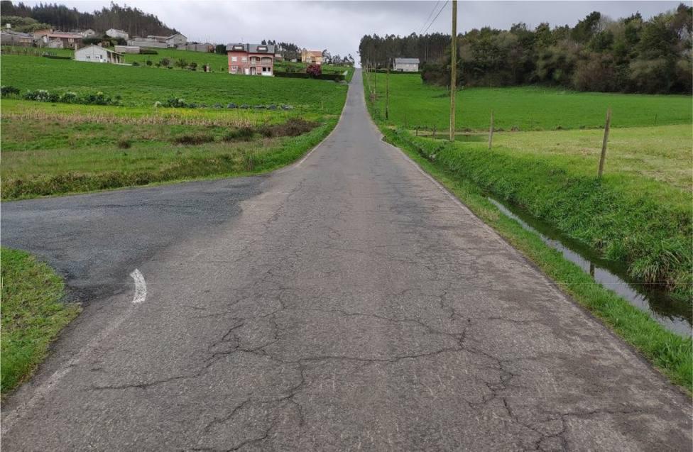 La inversión en la mejora viaria asciende la cerca de 41.000 euros - FOTO: Igor Vergara