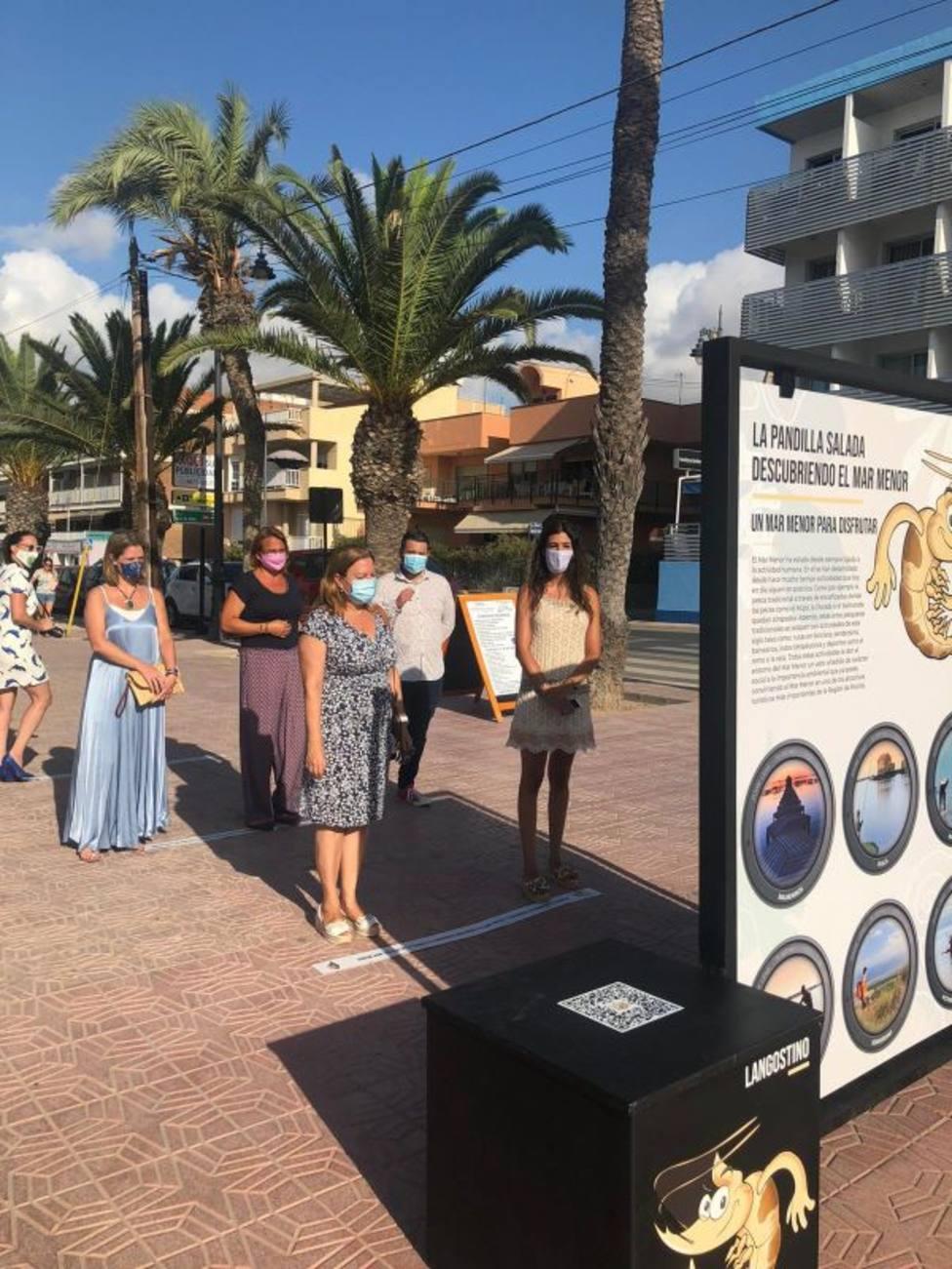 La exposición interactiva La pandilla salada, descubriendo el Mar Menor recorrerá los municipios ribereños